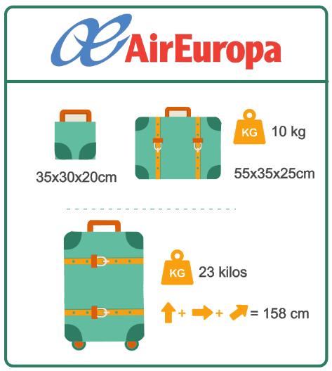 Air Europa Tarifa Economy Equipaje Best Description