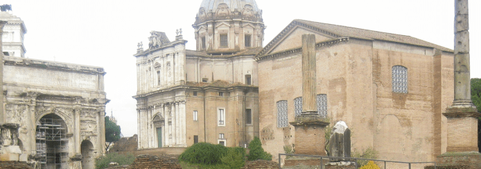 Conoce el Foro Romano de Roma