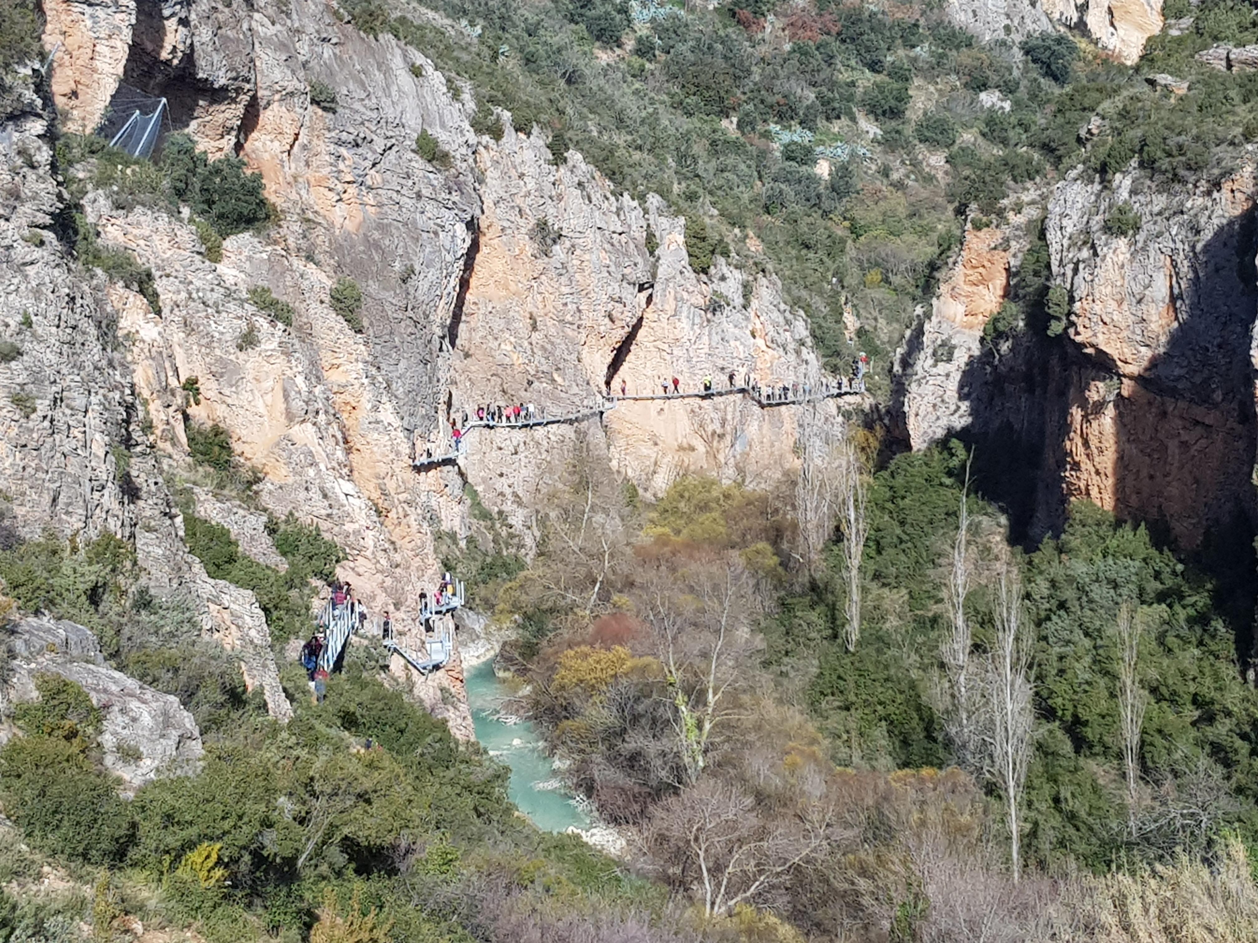 Ruta por las pasarelas del río Vero en Alquezar