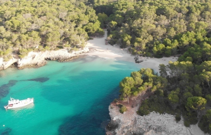 Las mejores y mas bonitas calas de Menorca