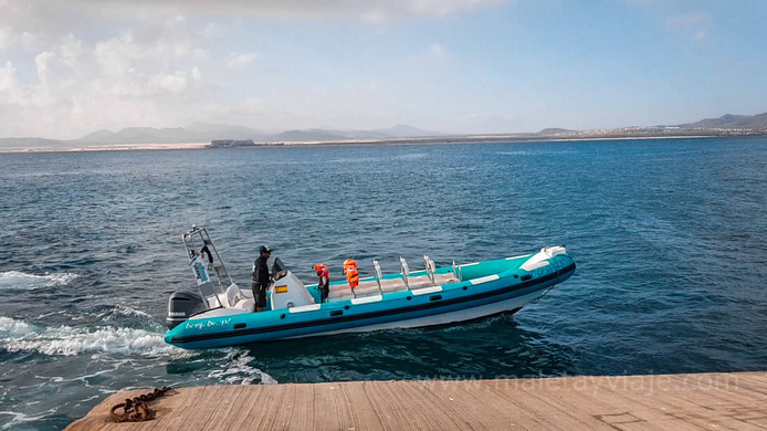 Watertaxi a isla de lobos
