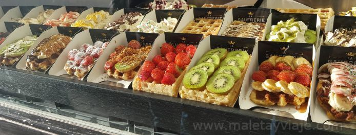 Comer en Bruselas
