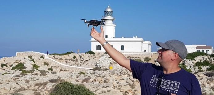 El mejor drone para viajar