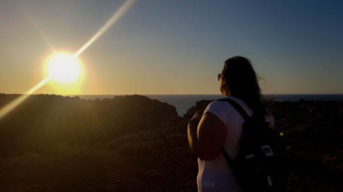 Faro Punta Nati - Los mejores atardeceres de Menorca